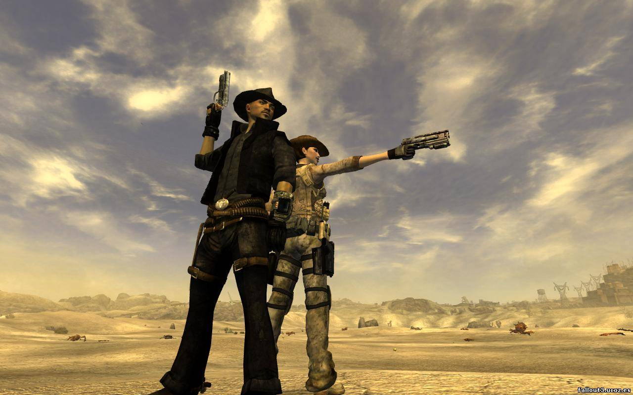 Fallout 3 New Vegas На Русском
